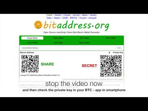 Many FAKE Copies From Bitaddress.org Are Scam