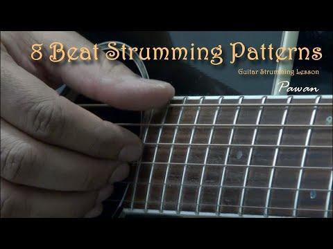 Guitar Strumming Techniques - 8 Beat Patterns