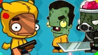 ВЫЖИВАНИЕ В ДОМЕ С ЗОМБИ Игра для детей про зомби Крутой до БОСС