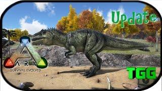 Video Ark: Survival Evolved   Update 222 Sword, Shields, & Giganotosaurus (Ark Updates) download MP3, 3GP, MP4, WEBM, AVI, FLV September 2018
