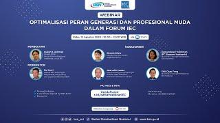 Optimalisasi Peran Profesional Muda dalam Forum IEC