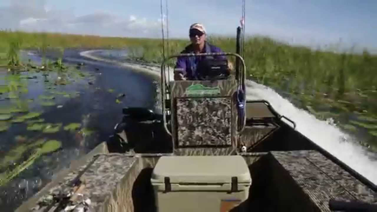 Do Gator Trax Boats Slide Nope Youtube
