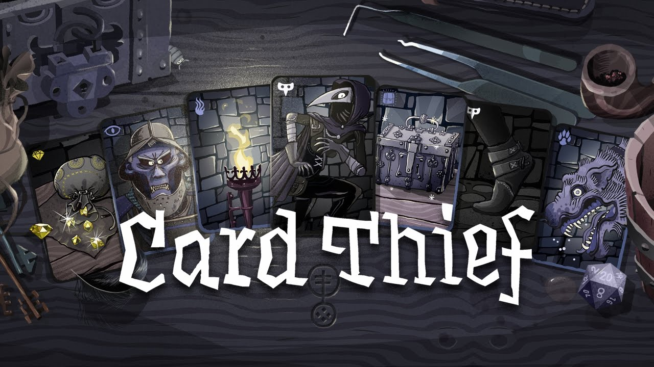 Card Thief word Game for iPhone & iPad 2018