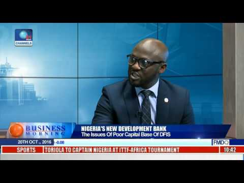 Business Morning: Focus On Nigeria's New Development Bank