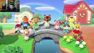 FIRMO UNA HIPOTECA CON TOM - Animal Crossing New Horizons - Directo 1