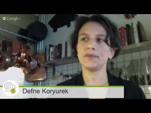 Defne Koryürek and Slow Fish Istanbul