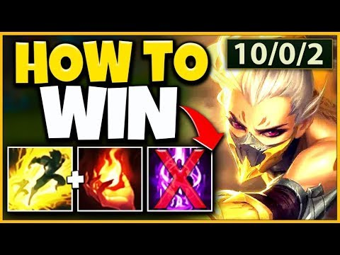 HOW TO WIN EVERY GAME WITH SEASON 10 AKALI! ULTIMATE 1V5 AKALI GUIDE! - League of Legends