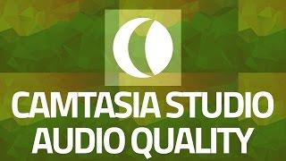 Best audio quality on camtasia studio recordings