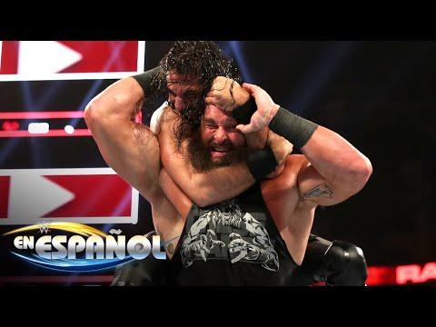 Seth Rollins vs su ex pareja de equipos Braun Strowman: En Español, 26 Septiembre 2019
