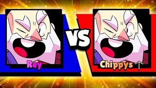 Rey Vs Chippys! - Dyna God Vs Dyna Noob! - Dynamike 1v1 In Brawl Stars! (Sweaty)
