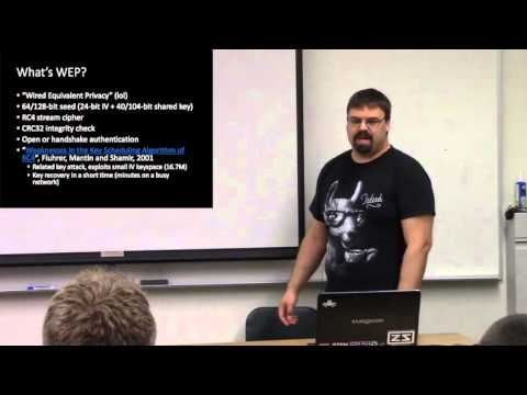 Wifi Security -- Nick Kartsioukas