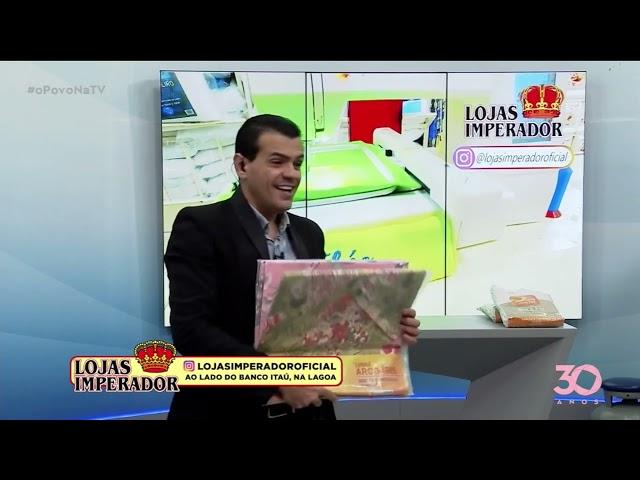 Lojas Imperador  - 16-10-2021 - O Povo na TV