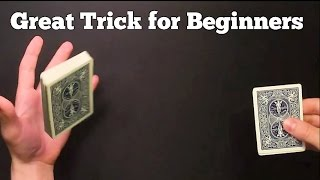 AWESOME BEGINNER CARD TRICK