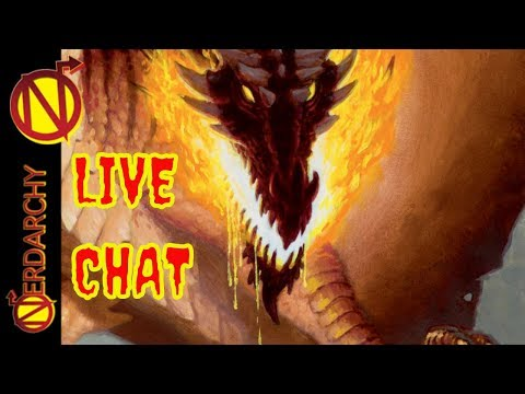 Talking D&D with NEW YouTuber Bring your Gaming Questions- Nerdarchy Live Chat #186