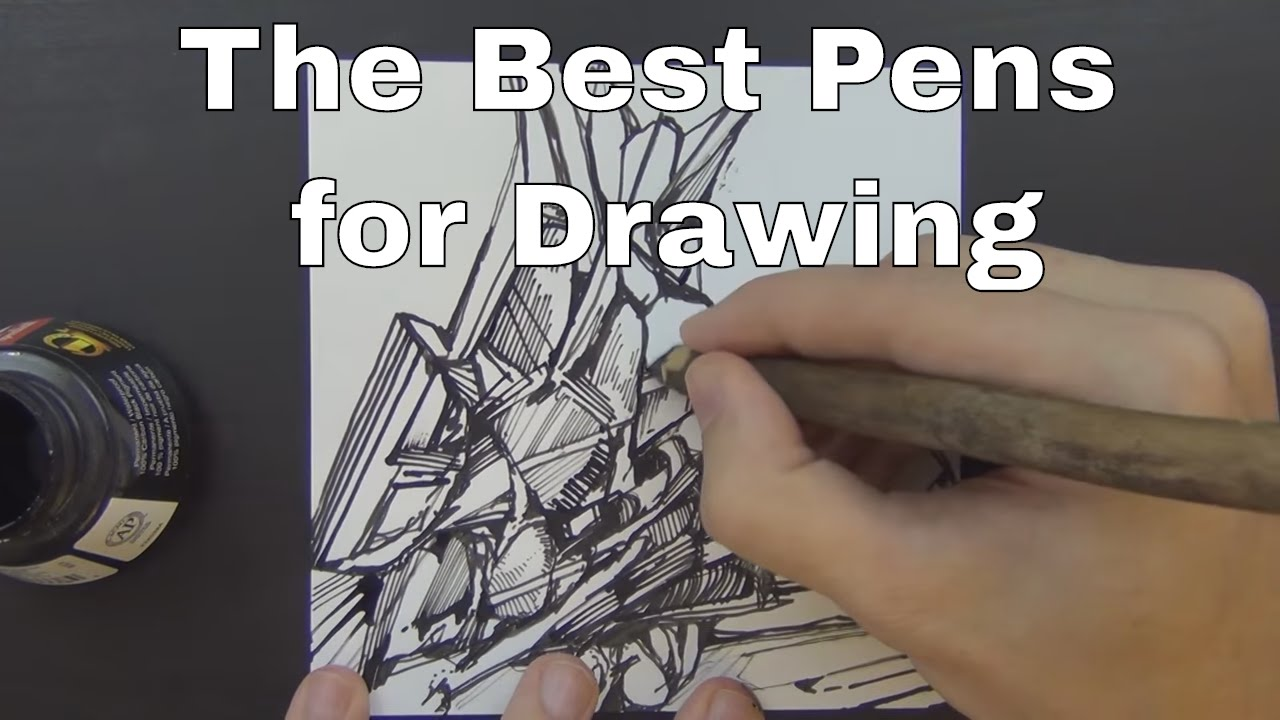 the best pens for drawing ever youtube