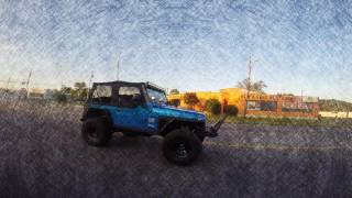 Lifted Jeep Rubicon Rolling Edit
