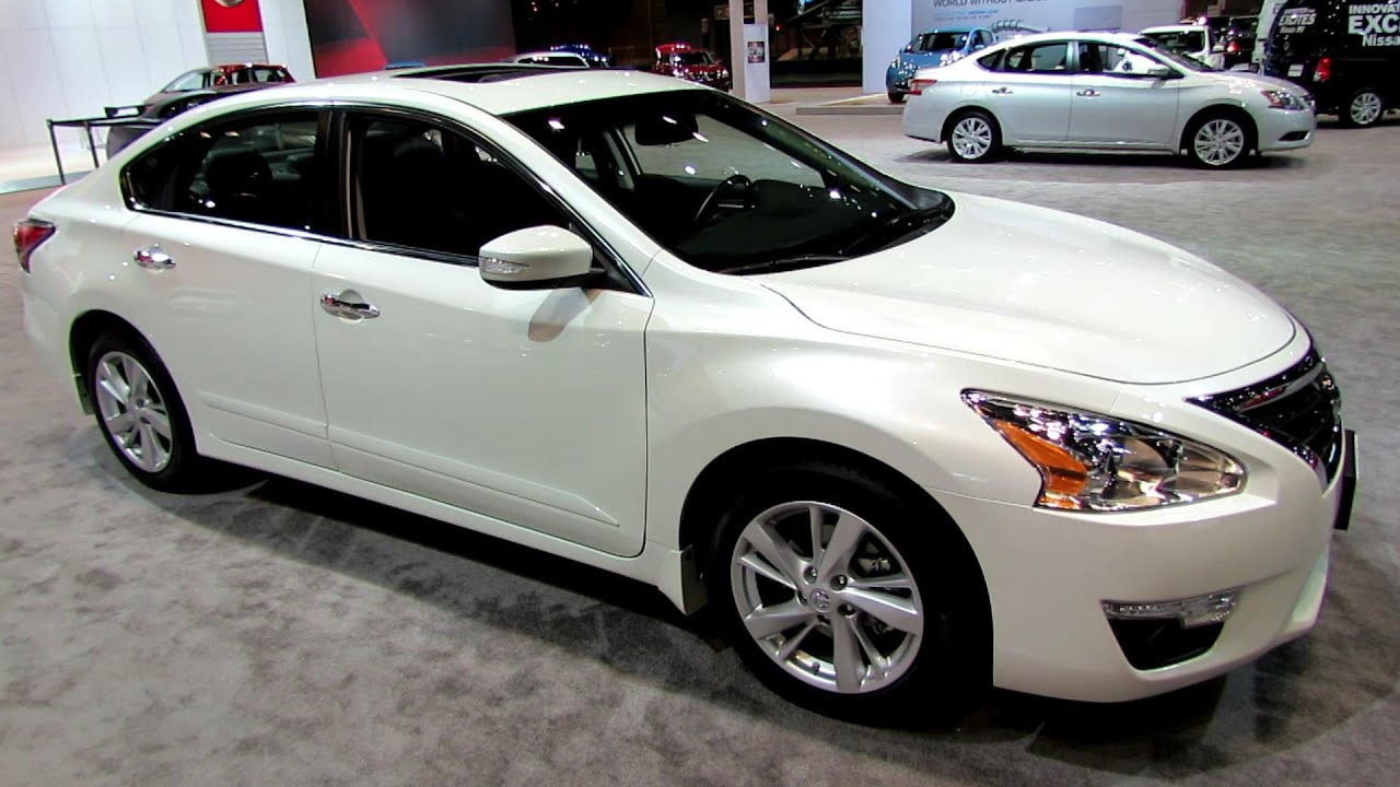 2014 Nissan Altima Sl Exterior And Interior Walkaround