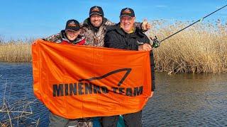 Впервые На рыбалке Три поколения MINENKO TEAM в одной лодке