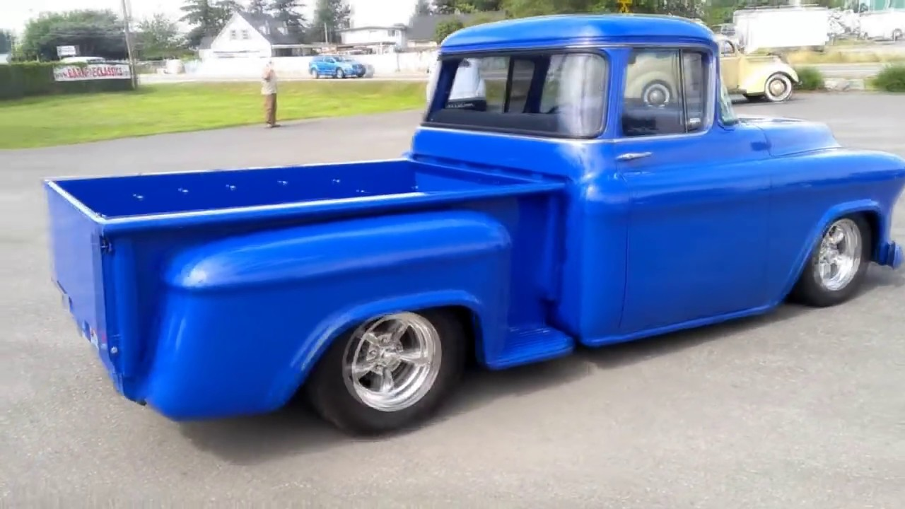 1956 chevy pick up - YouTube