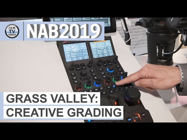 NAB2019: Creative-Grading-Konzept bei Grass Valley