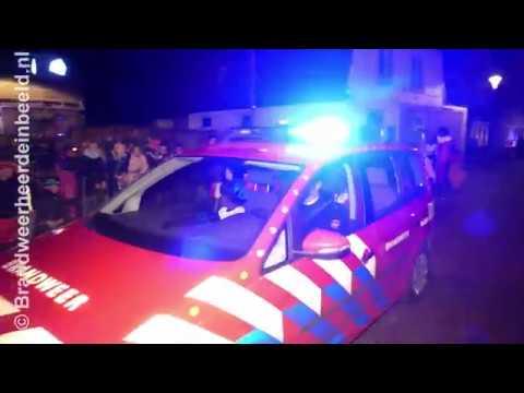 2017 11 24 Intocht Sinterklaas Wapenveld mmv Brandweer Wapenveld