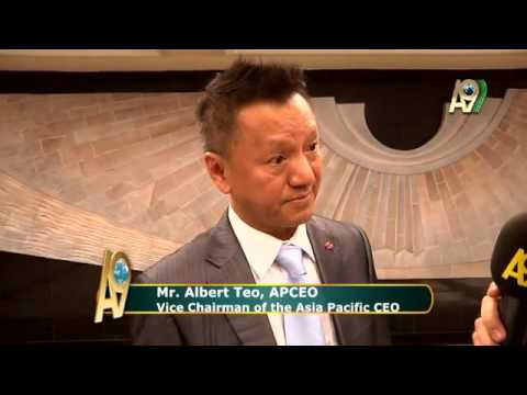 Mr. Albert Teo, APCEO Vice Chairman of the Asia Pacific CEO