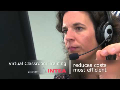 Virtual Classroom Training / Webinar Training / english - INTEA GmbH
