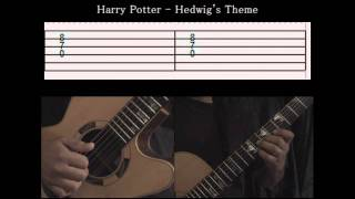 Guitar Tutorial 3 - Harry Potter - Hedwig's Theme - Full Tab