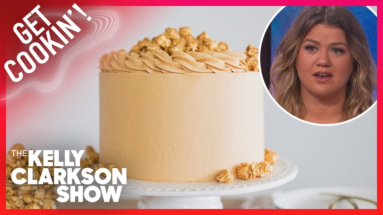 Kelly Tries To Make Caramel Popcorn Cake For #NationalPopcornDay