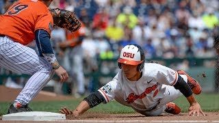 NCAA College World Series Highlights: Oregon State bounces back to beat Cal State Fullerton