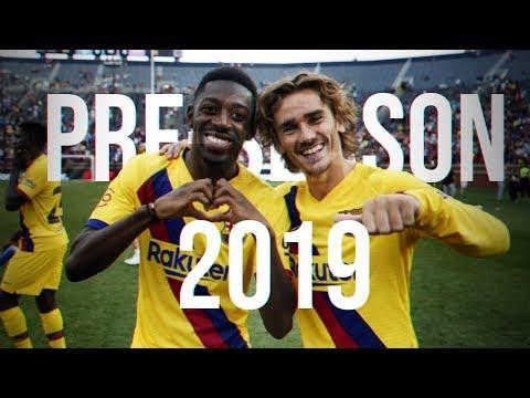 FC Barcelona - Pre-Season 2019 - Skills & Goals HD