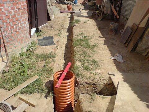Делаем дренаж участка и дренаж фундамента, советы и рекомендации по монтажу, отвод воды с участка