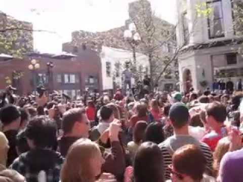 GLEE Flash Mob - Pioneer Square Seattle