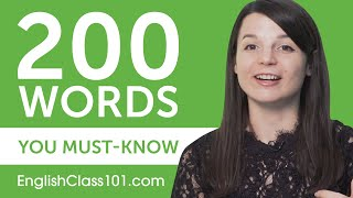 200 Words Every English Beginner Must-Know