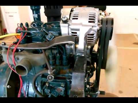 Throw Out Bearing >> Kubota B7100 D950 swap - YouTube