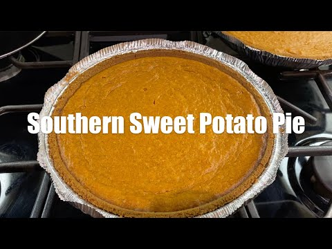 Southern Style Sweet Potato Pie Recipe