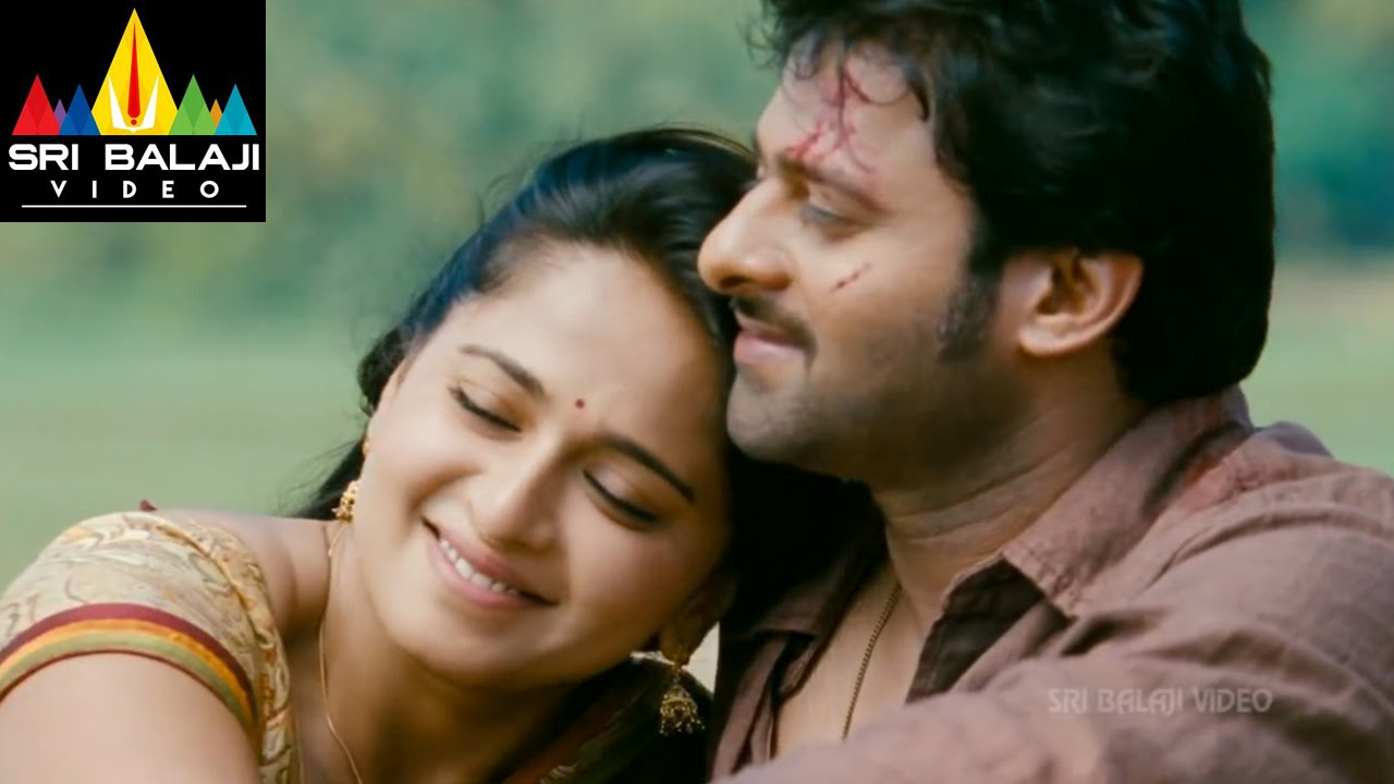 Prabhas Mirchi Telugu Movie 2013 Wallpapers Hd: Mirchi Movie Anushka & Prabhas Scene