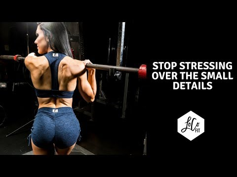 Stop stressing over the small details | Top 4 Female Weight Loss Mistakes