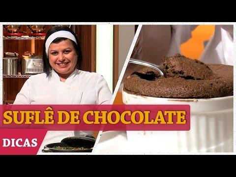 SUFLÊ DE CHOCOLATE Com Helena  | DICAS MASTERCHEF