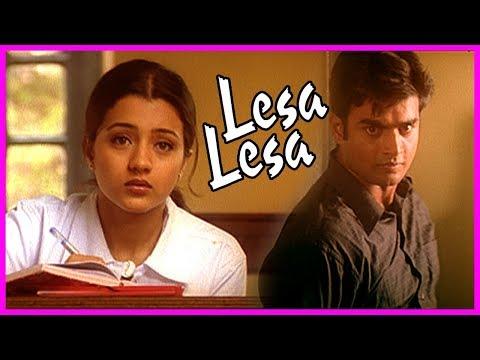 Lesa Lesa Movie Scenes | Trisha Reveals Her Past | Madhavan Intro | Shaam