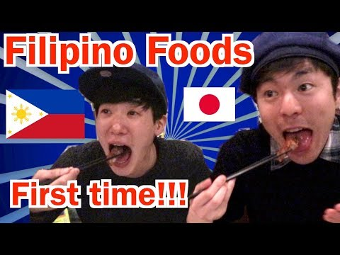 GO TO PHILIPPINES RESTAURANT WITH JAPANESE FRIENDS!!!