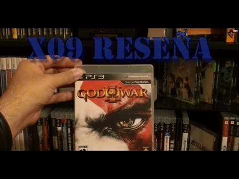 X09 Reseña God of War 3 para PS3