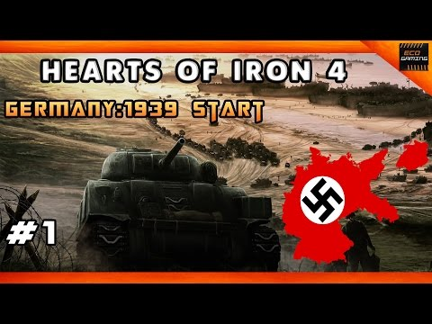 Hearts of Iron 4 | Germany | Part 1 | The German Reich 1939