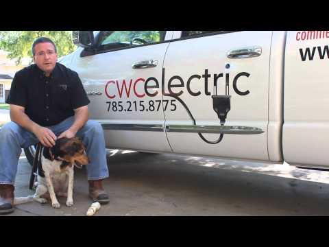 Electricians Topeka Lawrence Kansas CWC Electric Manhattan Emporia Kansas City LED Lighting Generato
