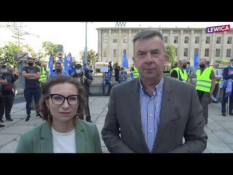 Dariusz Wieczorek iDaria Gosek-Popiołek wobronie Morskiej Stoczni GRYFIA!