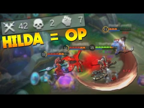 Mobile Legends Hilda The Best Hero? (Full DMG Build Gameplay)