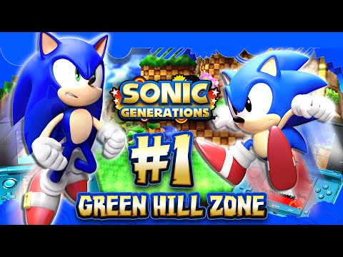 Sonic Generations 3DS - Part 1 Green Hill Zone (1080p)