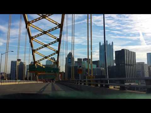 Best entrance into a city ever- PITTSBURGH