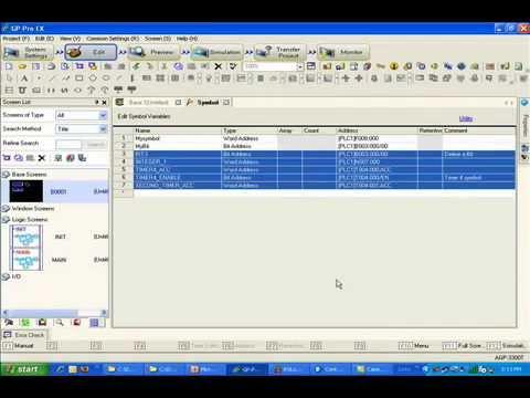 Working with Allen-Bradley(Rockwell) PLC Data in GP-Pro EX