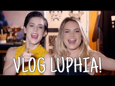 Vlog LUPHIA: Lunáticos e Tirulipos! (Feat. Sophia Abrahão) - Lua Blanco